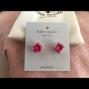 Kate Spade Hot Pink Studs